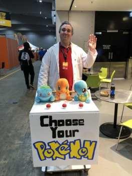 PAX Cosplay Professor Oak, pokemon