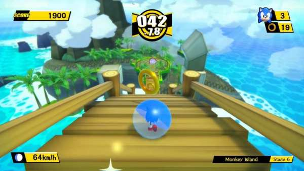 Sonic, Super Monkey Ball Banana Blitz HD
