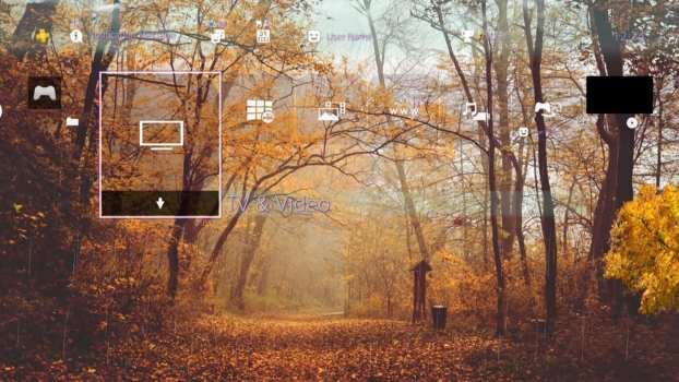 4K Brain Breaker Meditation Rain Music and Autumn Dynamic Theme