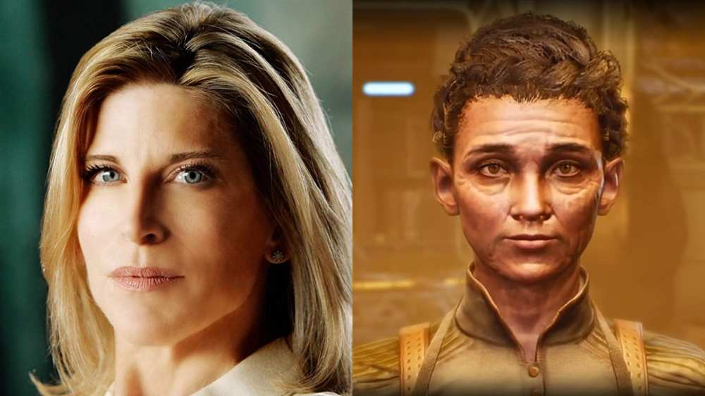 adelaide, outer worlds, voice cast