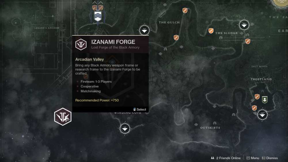 destiny 2 forges disappeared