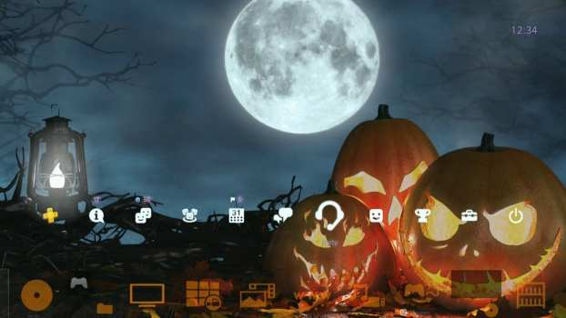 4k Spooky Halloween Dynamic Theme
