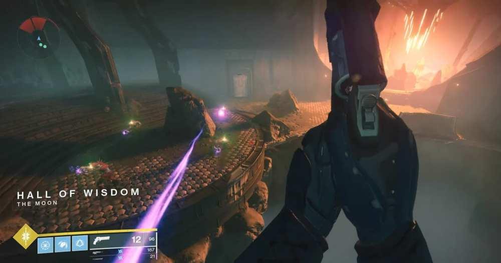 Destiny 2   Búsqueda de Esencia de Brutalidad de Shadowkeep, ubicación del filamento necromático