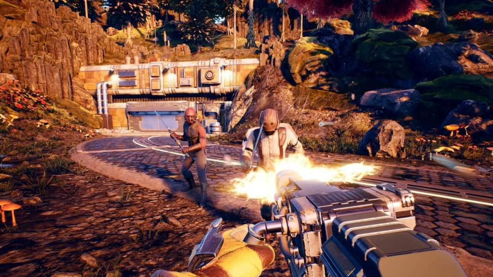outer worlds level up fast