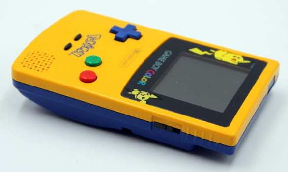 Pikachu and Pichu Yellow Game Boy Color