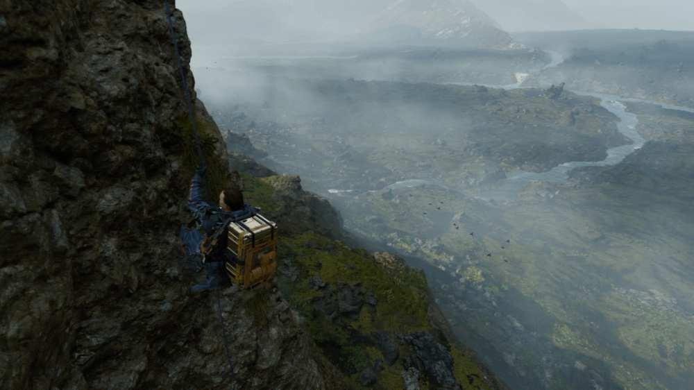 open-world exploration, death stranding