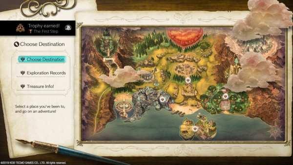 Atelier Ryza Map