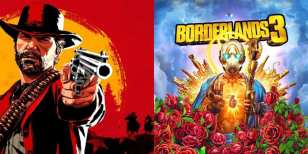 borderlands 3 red dead redemption 2, sales, take-two