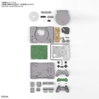 PlayStation Saturn Model Kit Bandai (2)