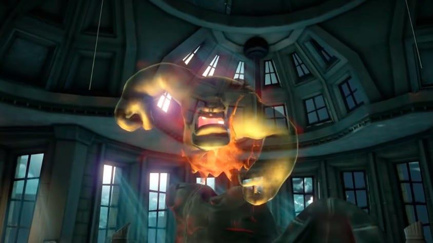 UG, Caveman, T-Rex, ghost