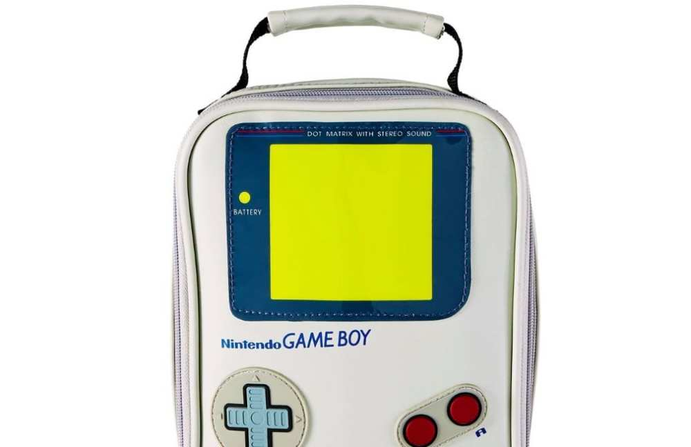Nintendo Game Boy lunchbox, Spencers, holiday gifts