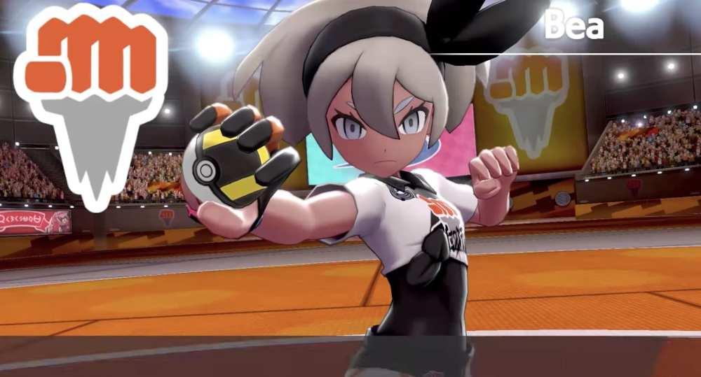 Bea, Pokemon Sword and Shield gym leaders, ranked, fighting-type gym