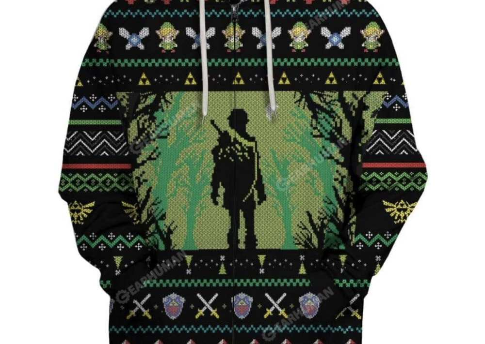 Zelda sweater, nintendo