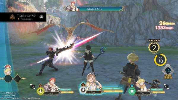 Atelier Ryza Combat