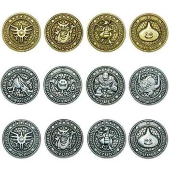 dragon quest, collectible coins, jrpg