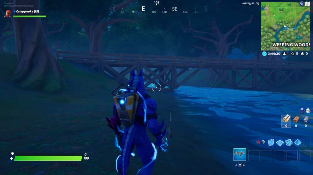 Fortnite hidden letter 'T' location