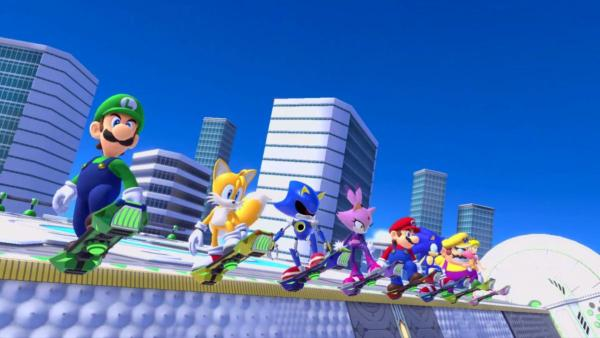 mario and sonic 2