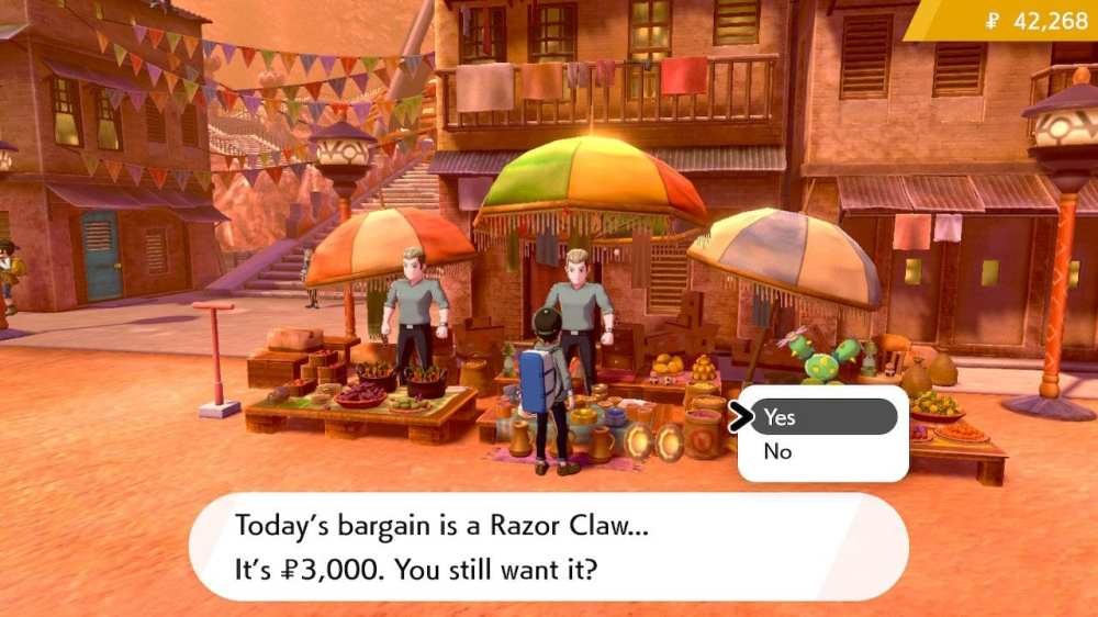 pokemon sword and shield, razor claw