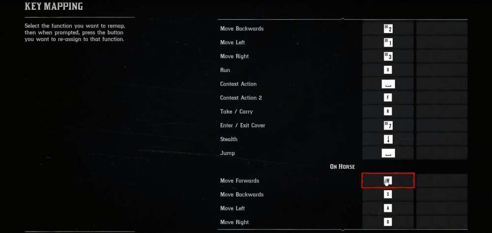 red dead redemption 2 key mapping, red dead redemption 2 pc controls