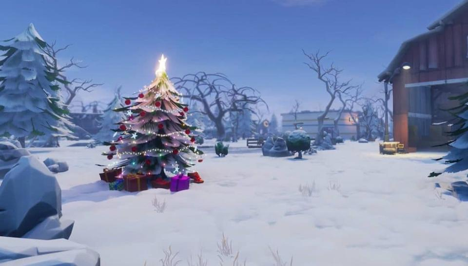 Fortnite Winterfest
