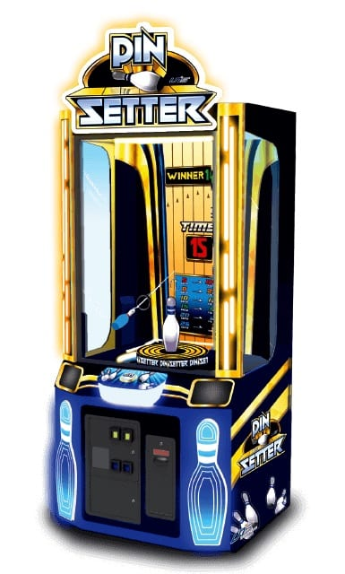 Pin Setter, arcade games