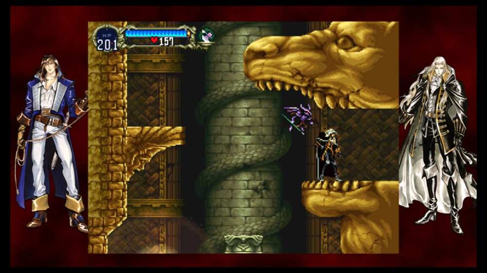Castlevania Requiem: Symphony of the Night and Rondo of Blood, best ps1 games to play on ps4, anniversary