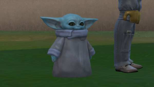 baby yoda, sims 4, the sims 4, ts4