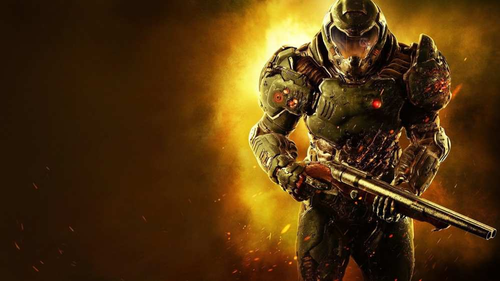 Doom slayer, monster hunter world pc mod, nexus mods