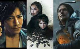 best story/writing, death stranding, judgement, plague tale