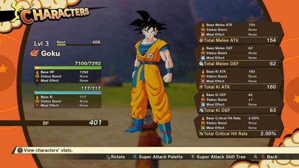 dragon ball z kakarot, tips, tricks
