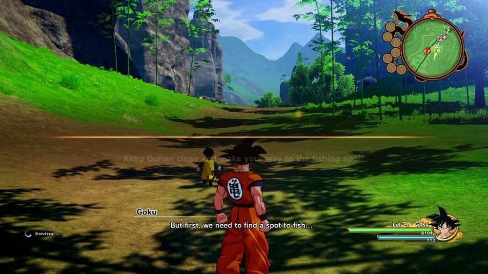 dragon ball z kakarot, save