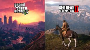 GTA V, red dead redemption 2 sales