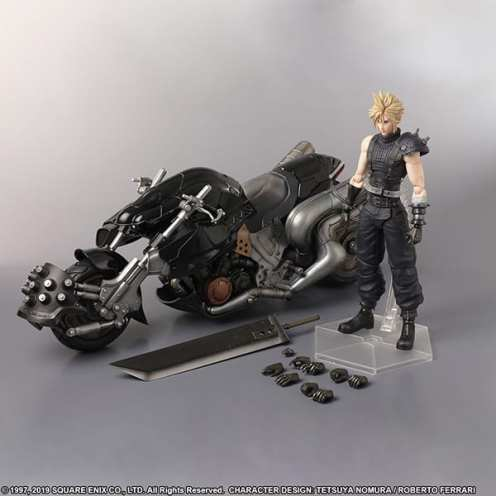 Final Fantasy VII Remake Play Arts Kai Cloud Hardy Daytona (8)
