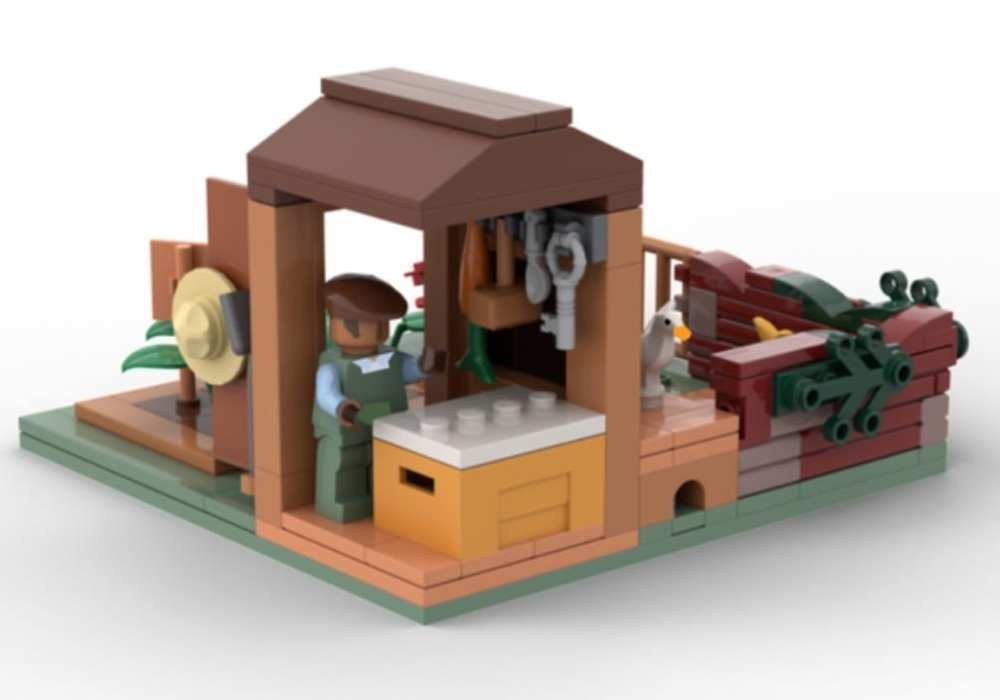 untitled goose game lego set build