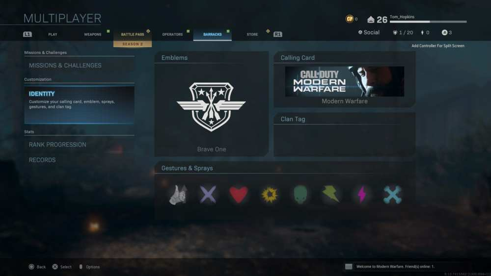how to get a colored clan tag in modern warfare
