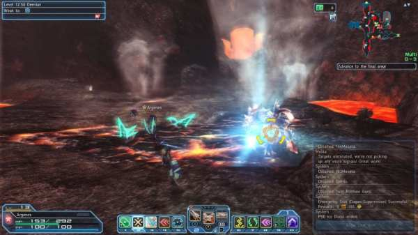phantasy star online 2, pso2, closed beta, deuman