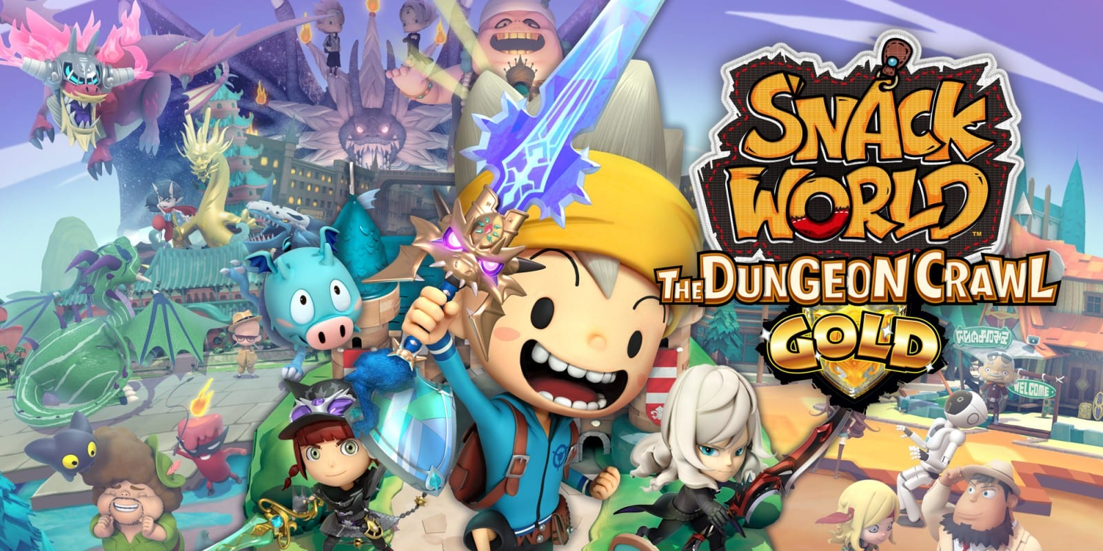 Snack World: The Dungeon Crawl - Gold Critic Review