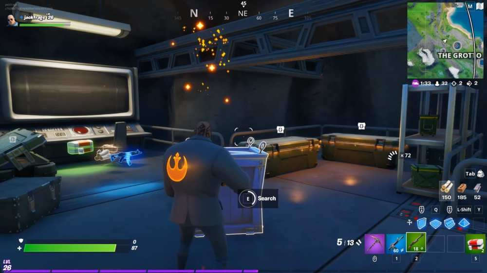 how to open the vaults in Fortnite