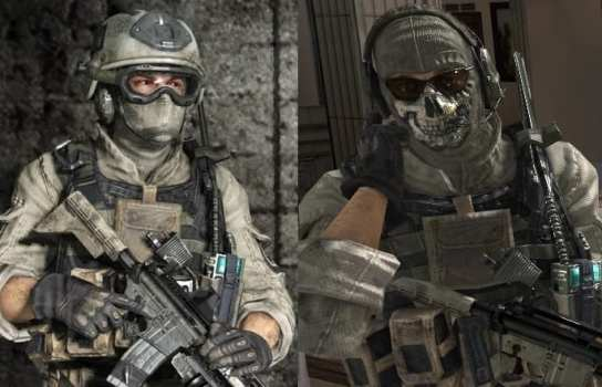 Roach and Ghost (Modern Warfare 2)