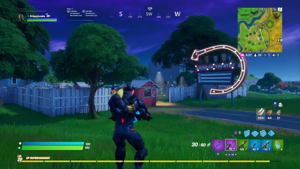 Fortnite Risky Reels location