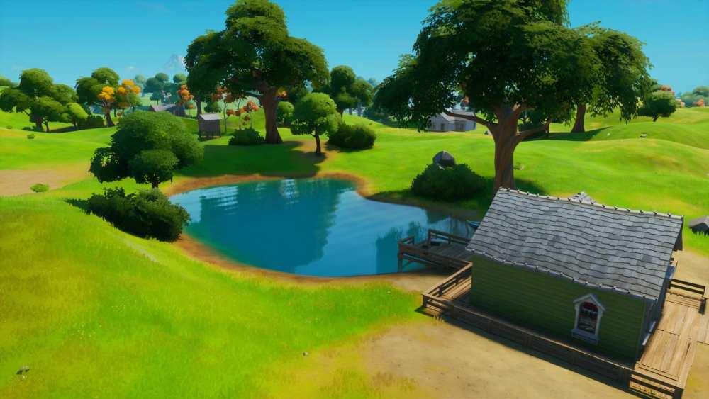 Flopper Pond in Fortnite