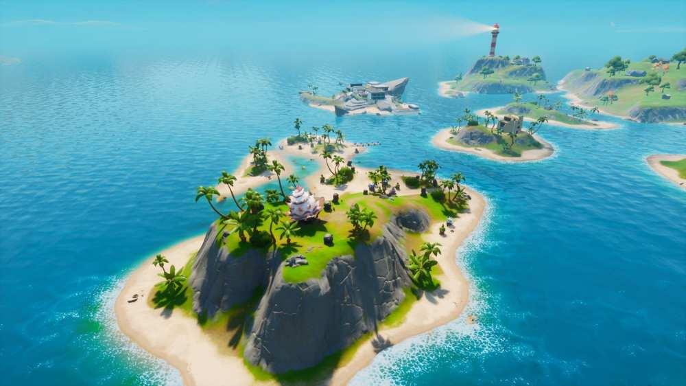 Fortnite Coral Cove