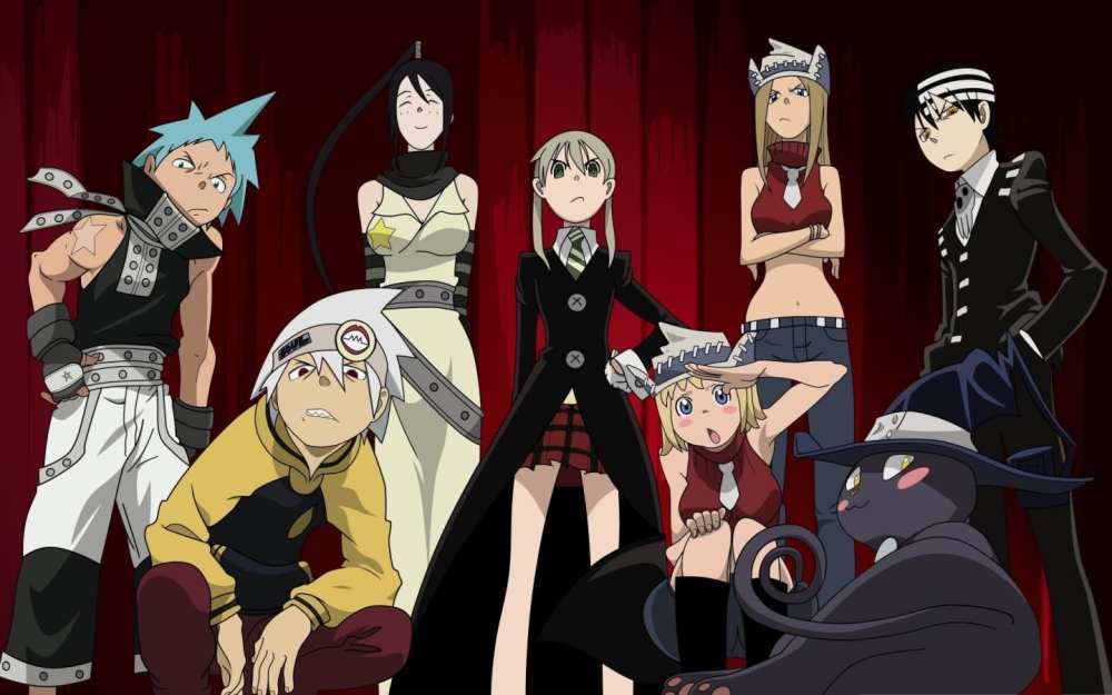 Arc System Works Anime Fighting Game Soul Eater