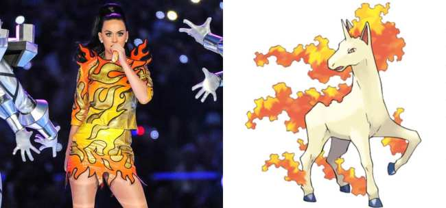 Katy Perry and Rapidash