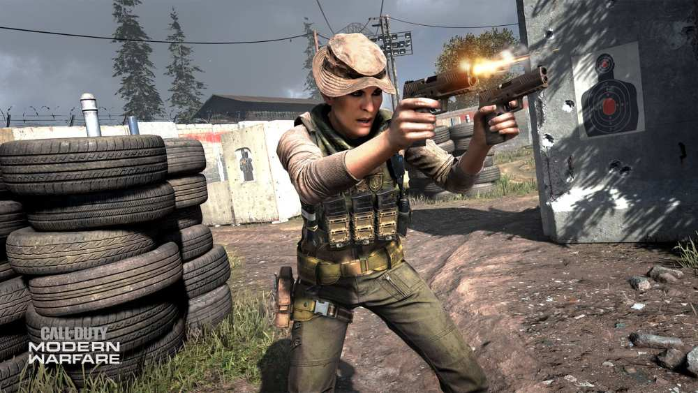 Modern Warfare akimbo pistols