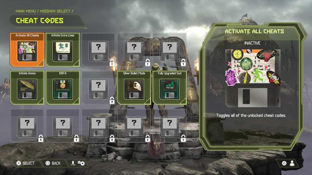 doom eternal, cheat codes