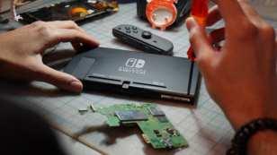 nintendo switch, repair