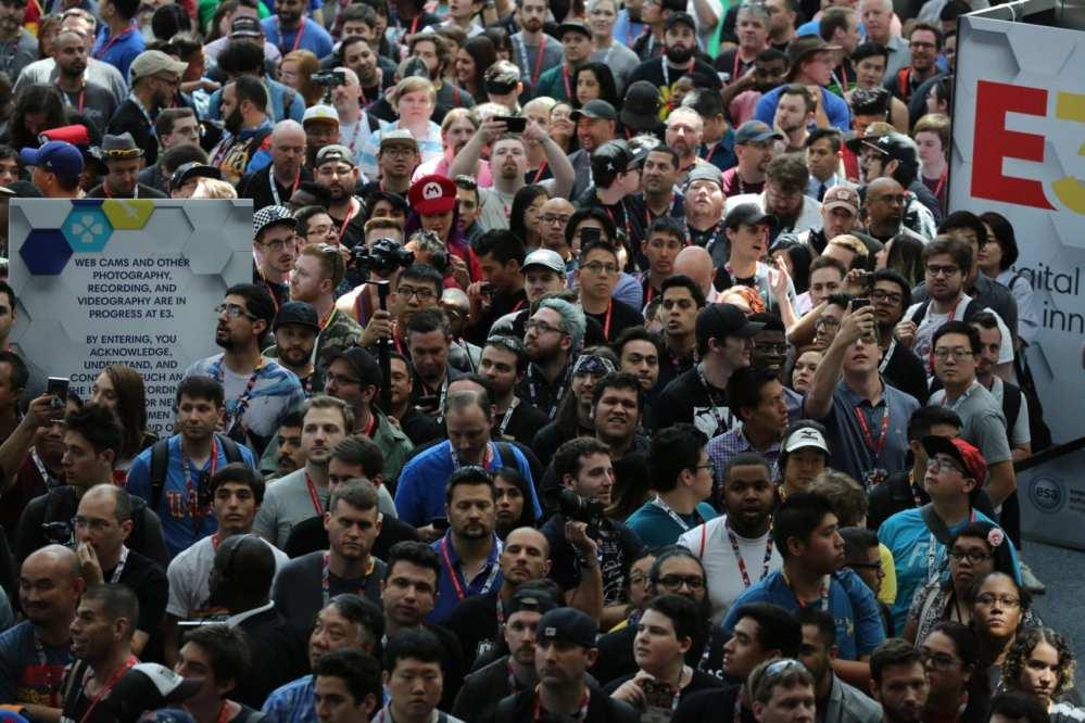 E3 Crowd Photo