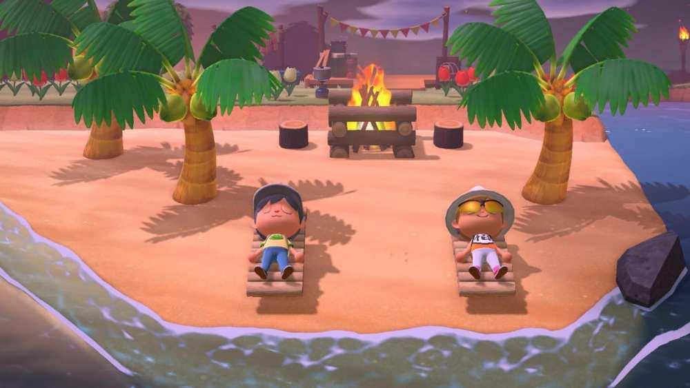 Animal Crossing New Horizons Beach Lounge
