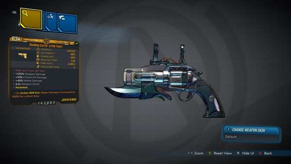 Little Yeeti Legendary Pistol